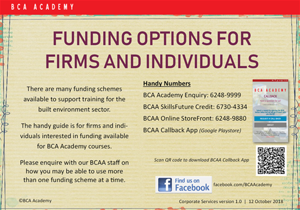 Funding options for firms and individuals - page 1